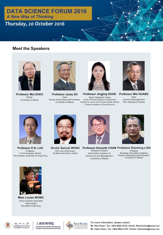 Data Science Forum 2016