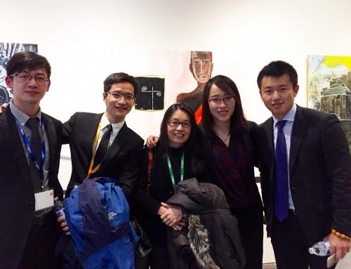 澳大學生到哈佛大學參加會議