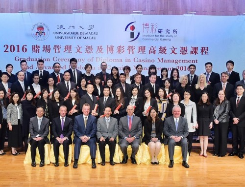 UM graduates new cohort of students of diploma programmes in casino and gaming management