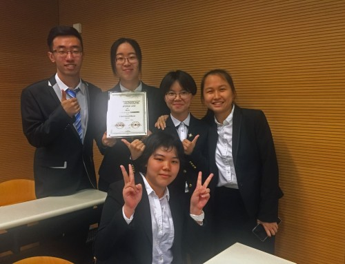 UM students win second prize at accounting and business management competition