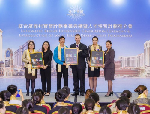 "FBA Student Received ""Impressive Performance Award"" from Sands China"