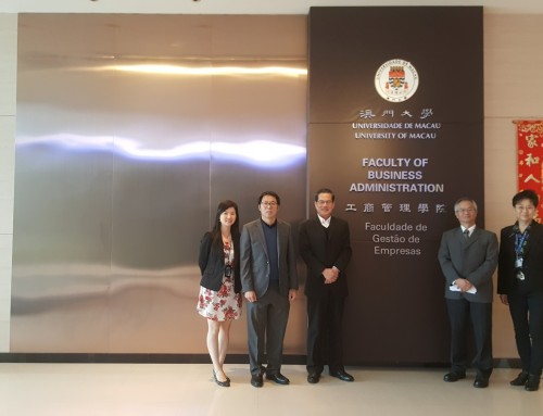 [Highlight] Visit Paid by Prof. David Chan, Director of School of Hotel and Tourism Management, CUHK (5 March 2018)