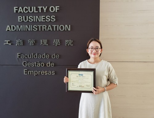 UM scholar's co-authored paper receives Best Paper Award