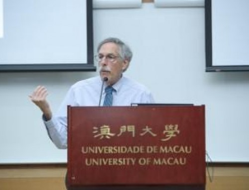 Nobel laureate gives talk at UM on pension design