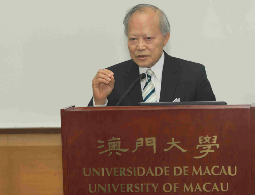 UM honorary doctor Anthony Lau gives talk on e-commerce logistics