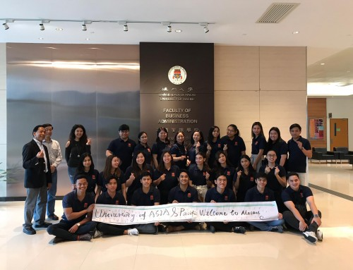 FBA organized a 5 day Macau study tour for professors and students from the Philippines' University of Asia and the Pacific (March 30 – Apr 3, 2019)