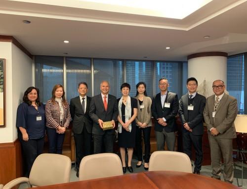 FBA Team Visited Banco Nacional Ultramarino (BNU) (March 7, 2019)