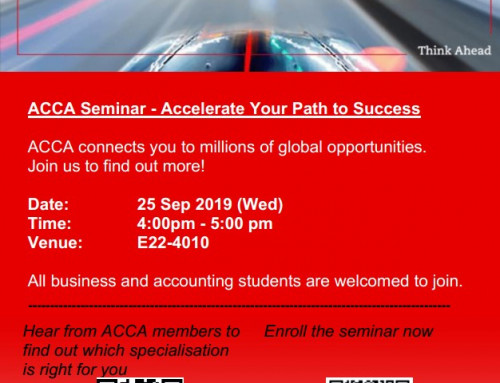 ACCA Seminar – Accelerate Your Path to Success