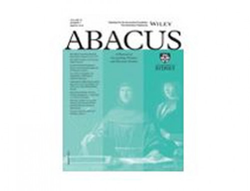 Abacus Conference Announcement: Online Special Issue Conference on  'Accounting, Auditing and Corporate Governance in China'